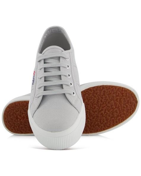 Superga Ladies Classic Mid Platform Sneaker  -  grey