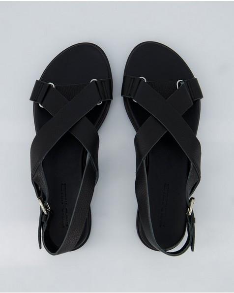 Ladies Thuli Sandal  -  black