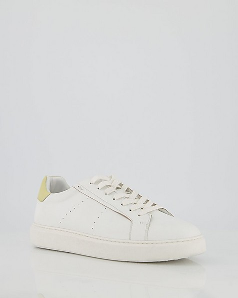 Ladies Juno Sneaker  -  yellow