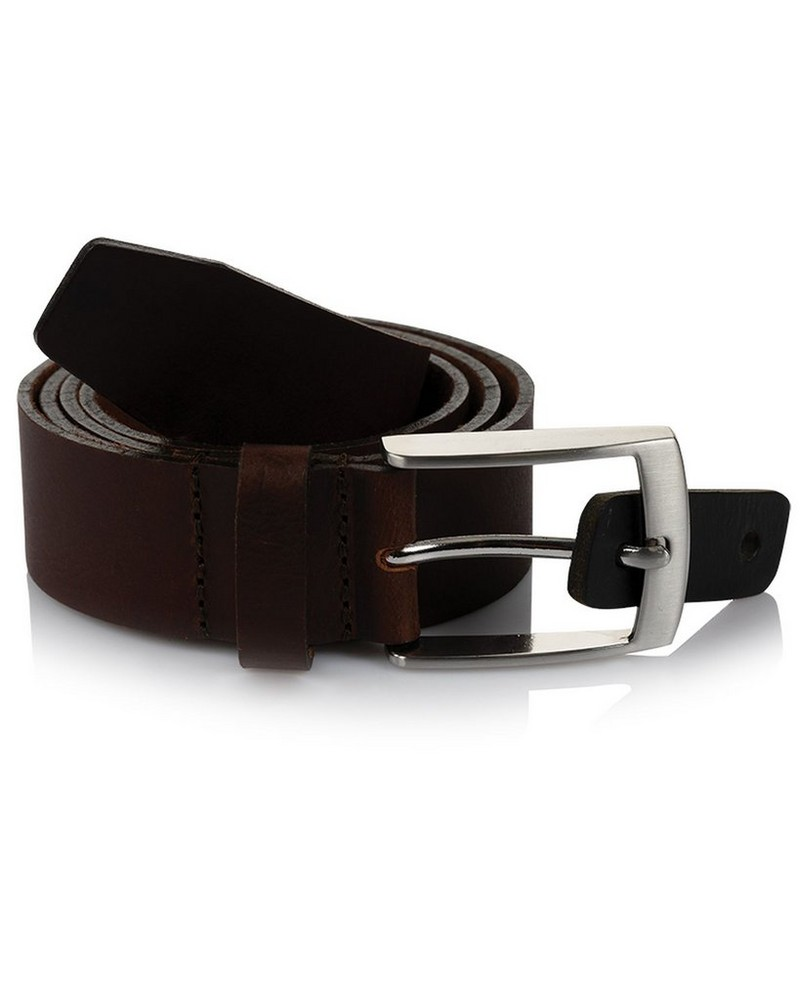 Arthur Jack Jennings Leather Belt -  brown
