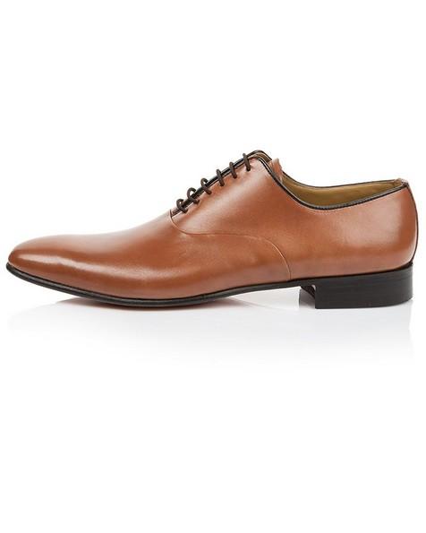 Crockett & Jones Men's Samuel Shoe -  tan