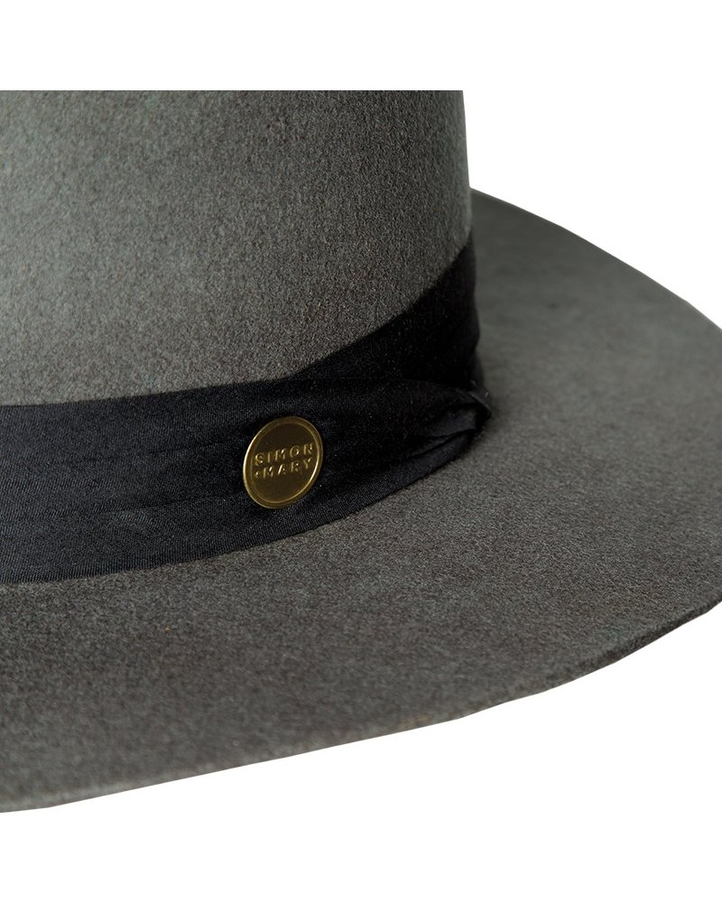 Simon & Mary Julian Hat -  grey