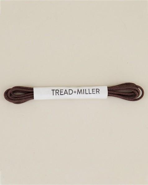 Tread & Miller Wax Cotton Shoelaces -  brown