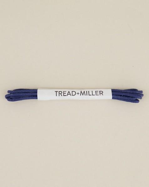 Tread & Miller Wax Cotton Shoelaces -  navy