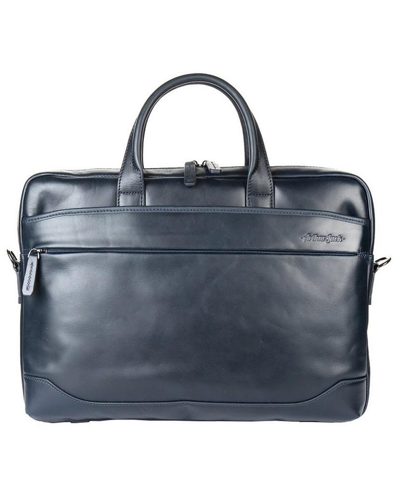 Arthur Jack Milan Messenger Bag -  navy-navy