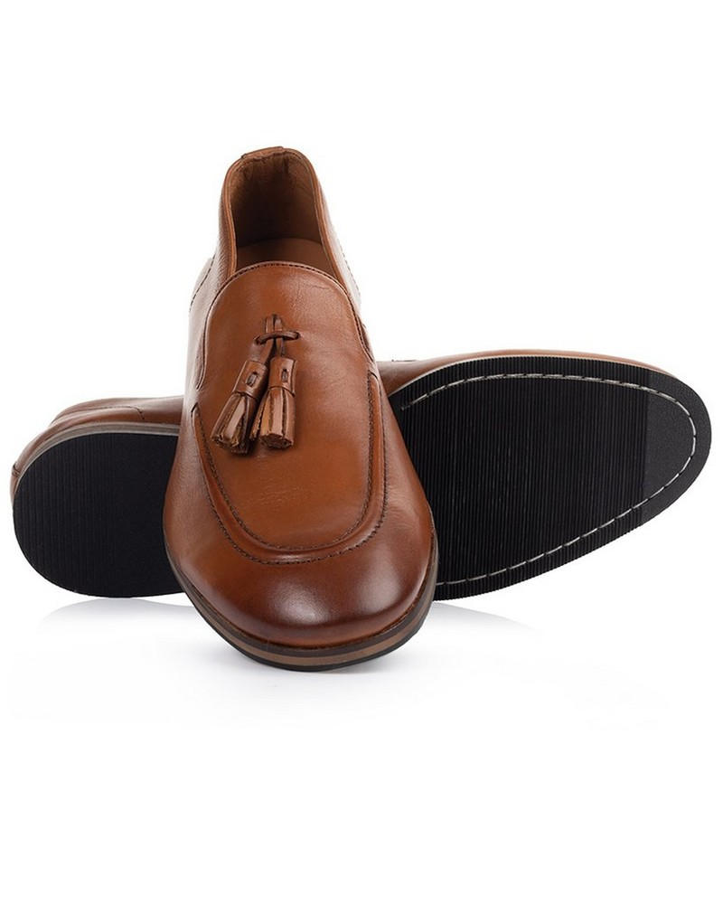 Arthur Jack Men's Tate Shoe -  tan