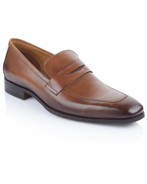 Arthur Jack Men's Aberdeen Shoe -  tan