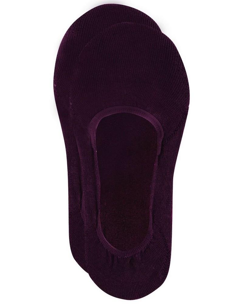 Tread & Miller Secret Sock -  burgundy