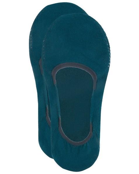 Tread & Miller Secret Sock -  teal