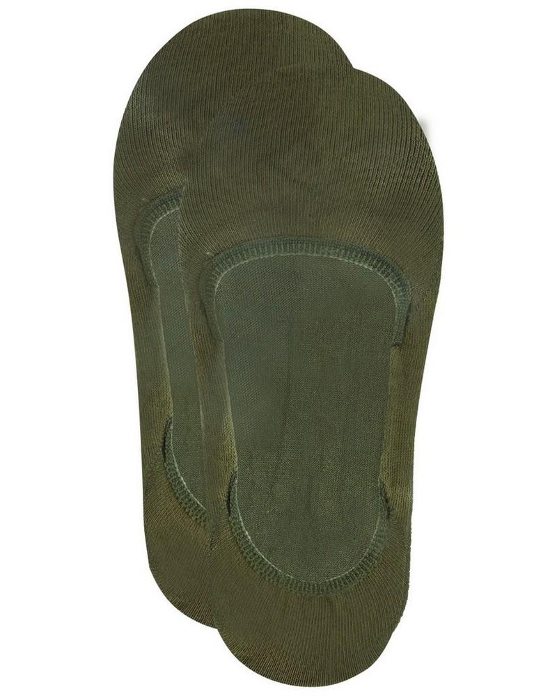 Tread & Miller Secret Sock -  olive