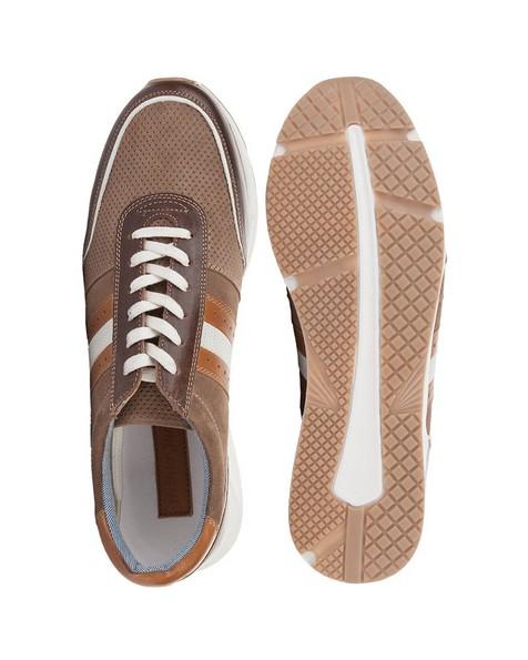 Arthur Jack Men's Lucas Sneaker -  driftwood-brown