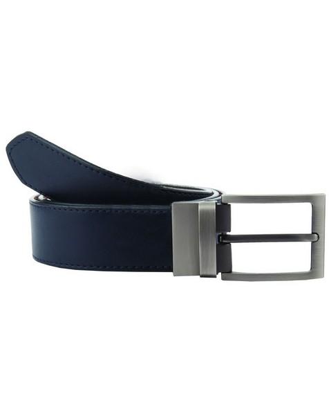 Arthur Jack Men's Benton Reversible Belt -  tan-navy