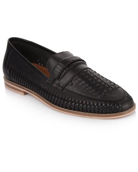 Arthur Jack Men's Lewis Shoe -  black
