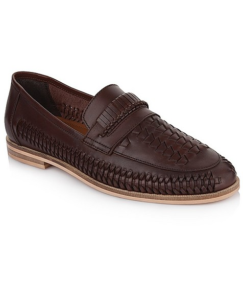 Arthur Jack Men's Lewis Shoe -  brown