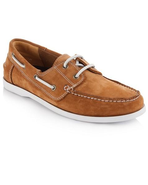 Arthur Jack Martin Shoe (Mens) -  tan-white