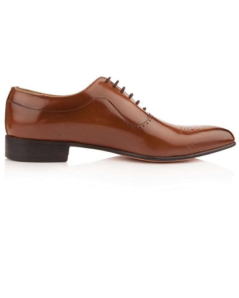Crockett & Jone Men's Walt Shoe  -  tan