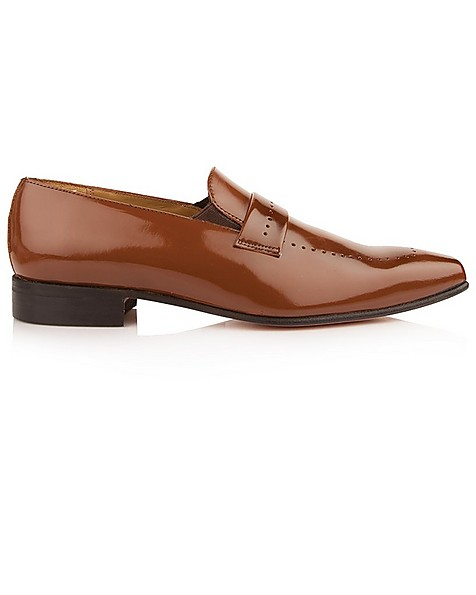 Crockett & Jones Men's Vincent Shoe  -  tan