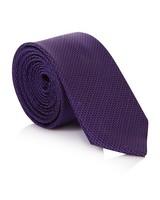 Tread & Miller Griffin Purple Silk Tie -  purple-purple