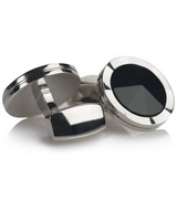 Conroy Cufflinks -  black-silver