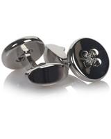 Tread & Miller Elmond Cufflinks -  silver