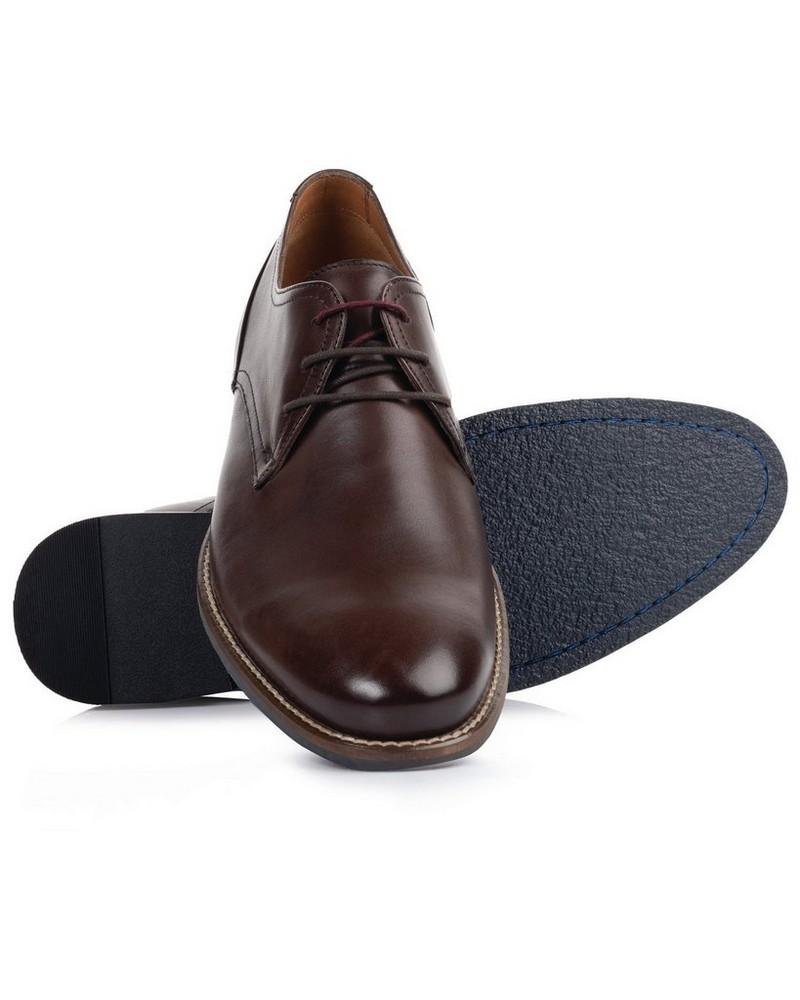 Arthur Jack Men's Daniels Shoe  -  brown