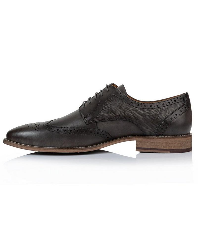 Arthur Jack Men's Fritz Shoe -  charcoal