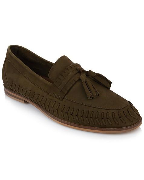 Arthur Jack Men's Logan Shoe  -  khaki