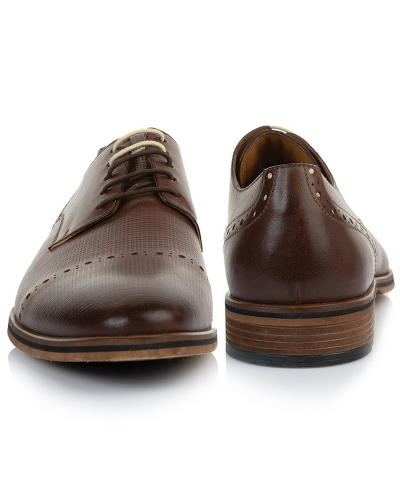 Arthur Jack Men's Brooklyn Shoe  -  chocolate