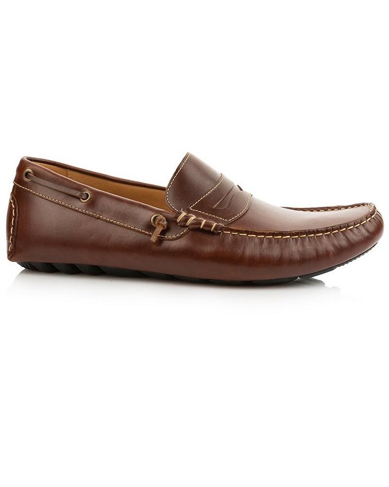 Arthur Jack Premium Diogo Shoe (Mens) -  tan