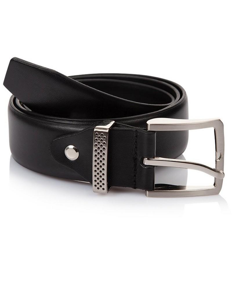 Arthur Jack Hughes 2 Leather Belt -  black