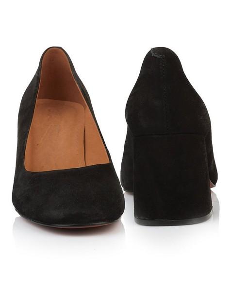 GIANNA Ladies Block Heel -  black