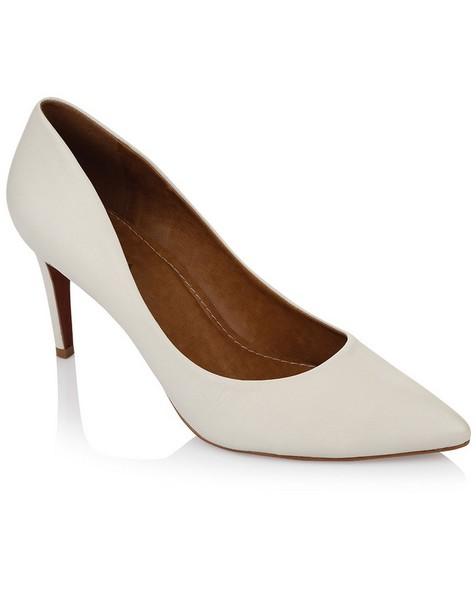 GIANNA Ladies Core Court Heel -  white