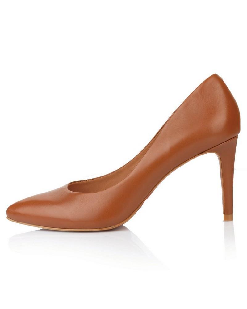 GIANNA Ladies Core Court Heel -  tan