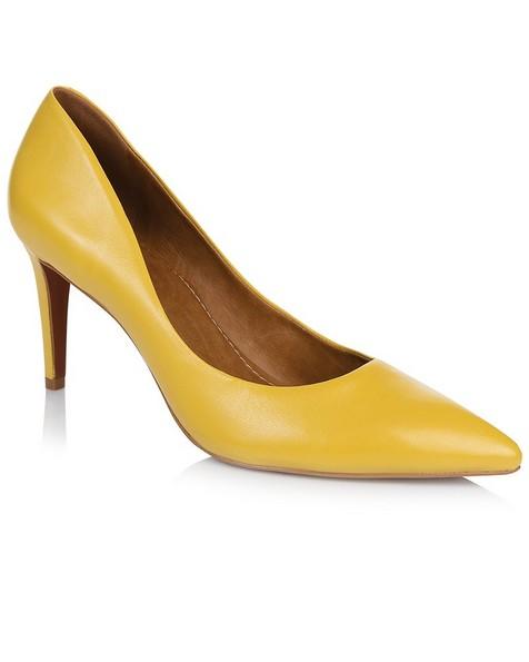 GIANNA Ladies Core Court Heel -  yellow
