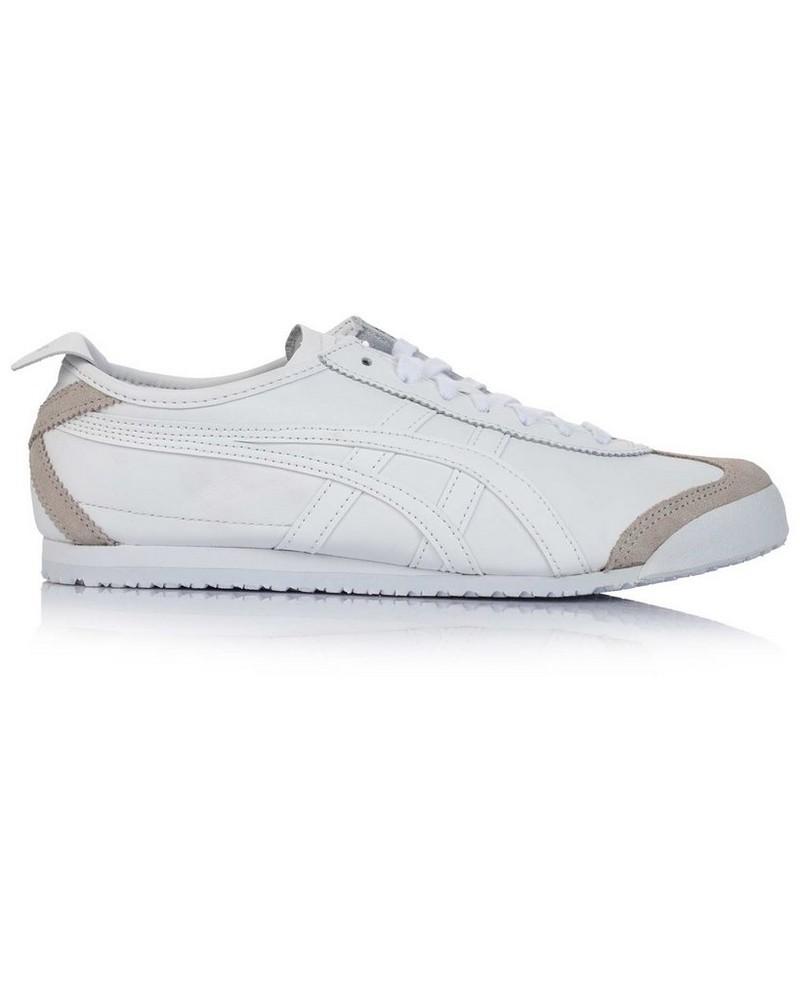 Onitsuka Ladies Tiger Mexico 66 Shoe -  white-white