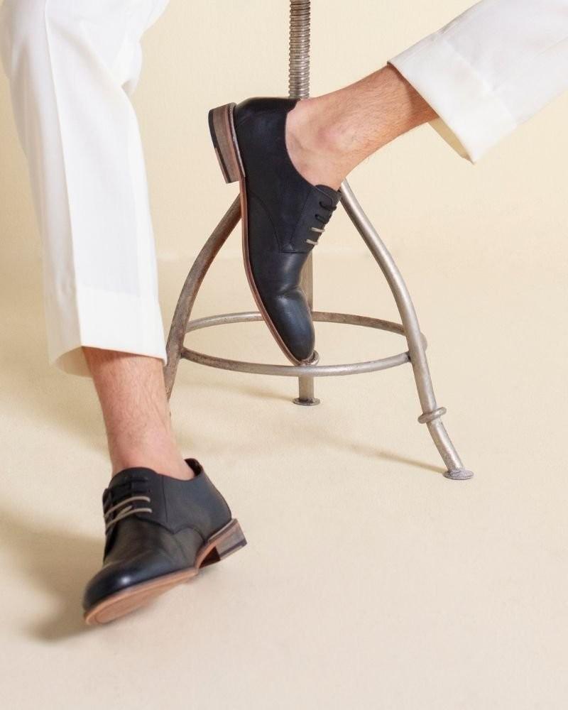 Arthur Jack Men's Chris Shoe -  black