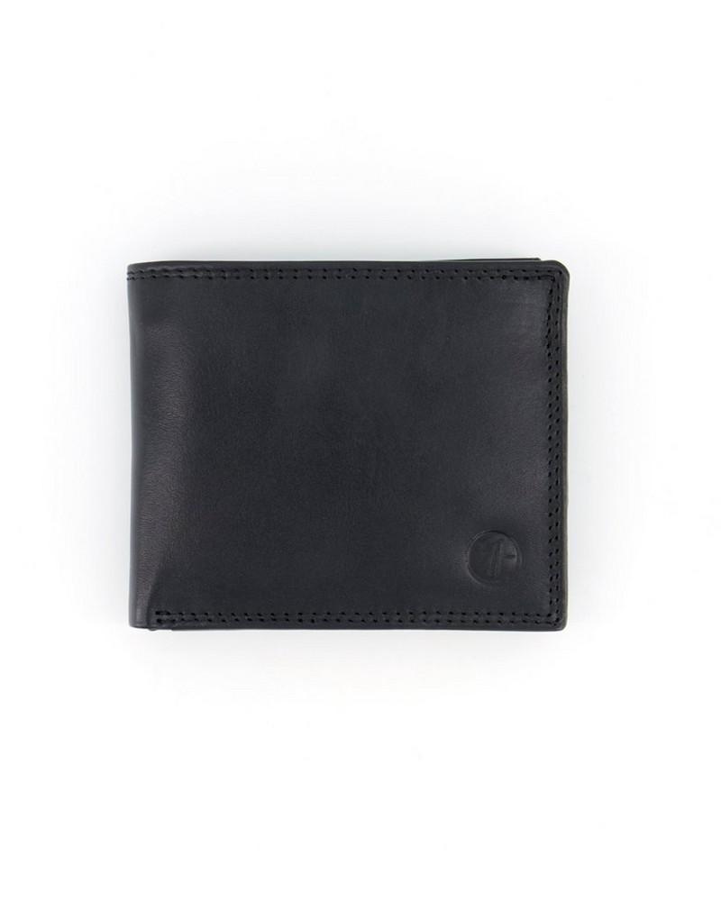 Arthur Jack Monaco 2 Leather Wallet -  black-black