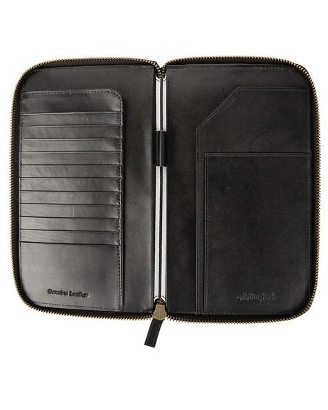 Arthur Jack Morroco Travel Wallet -  black