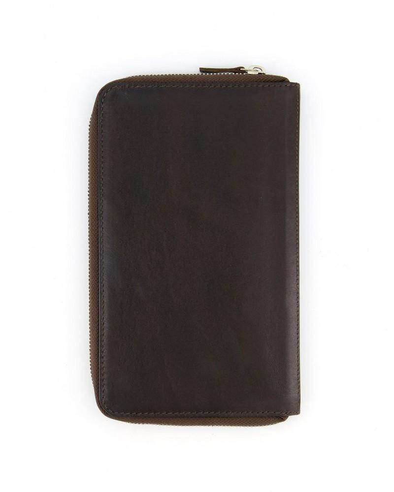 Arthur Jack Morroco Travel Wallet -  brown