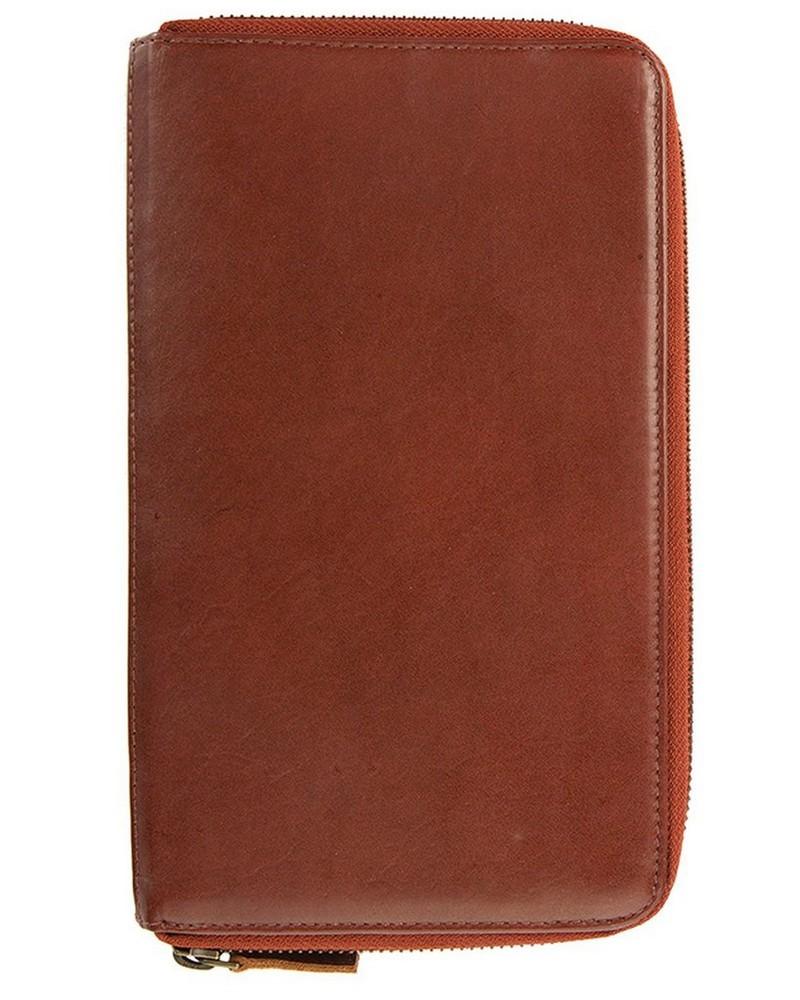 Arthur Jack Morroco Travel Wallet -  oxblood