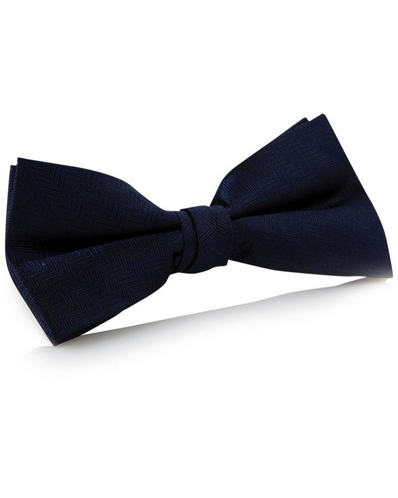 Tread & Miller Arthur Bow Tie -  navy