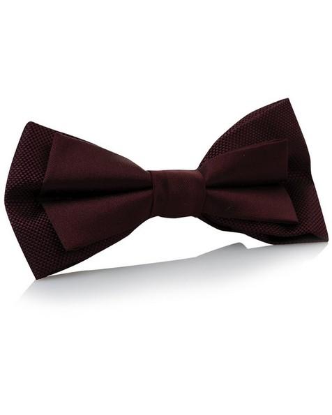 Tread & Miller Bertram Bow Tie -  burgundy