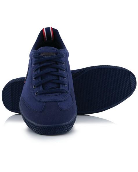 le coq Provencale II Canvas Shoe (Mens) -  navy-navy