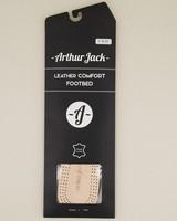 Arthur Jack Leather Comfort Insoles -  tan