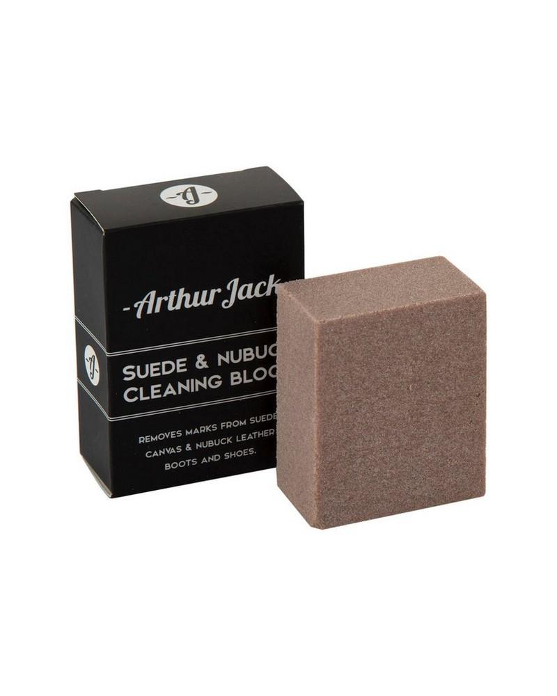 Arthur Jack Suede & Nubuck Cleaning Block -  white