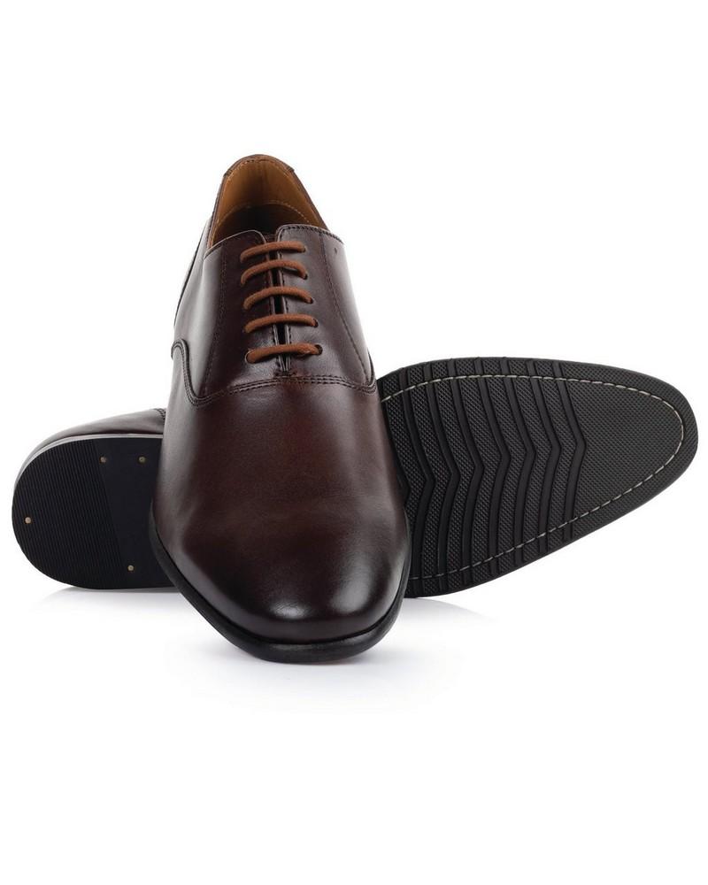 Arthur Jack Men's Nick Shoe -  chocolate