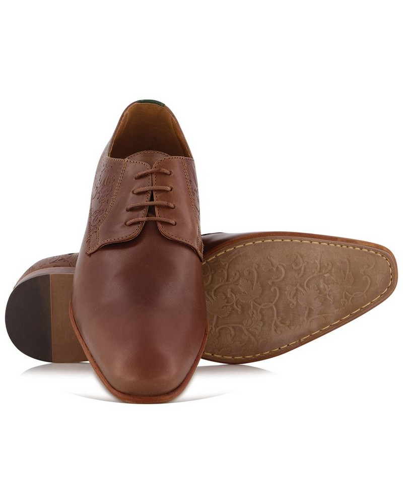 Arthur Jack Premium Men's Raphael Shoe  -  brown