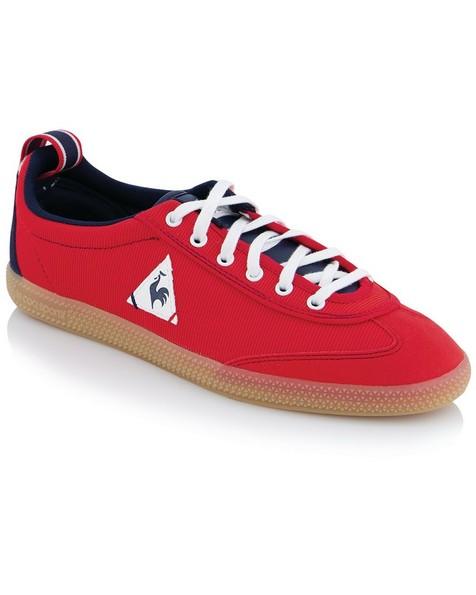 le coq Provencale Mens II Nylon Sneaker -  red-blue