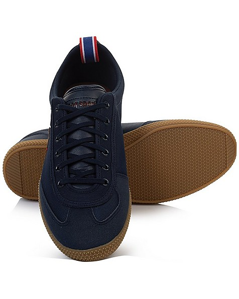 le coq Provencale Mens II Nylon Sneaker -  blue