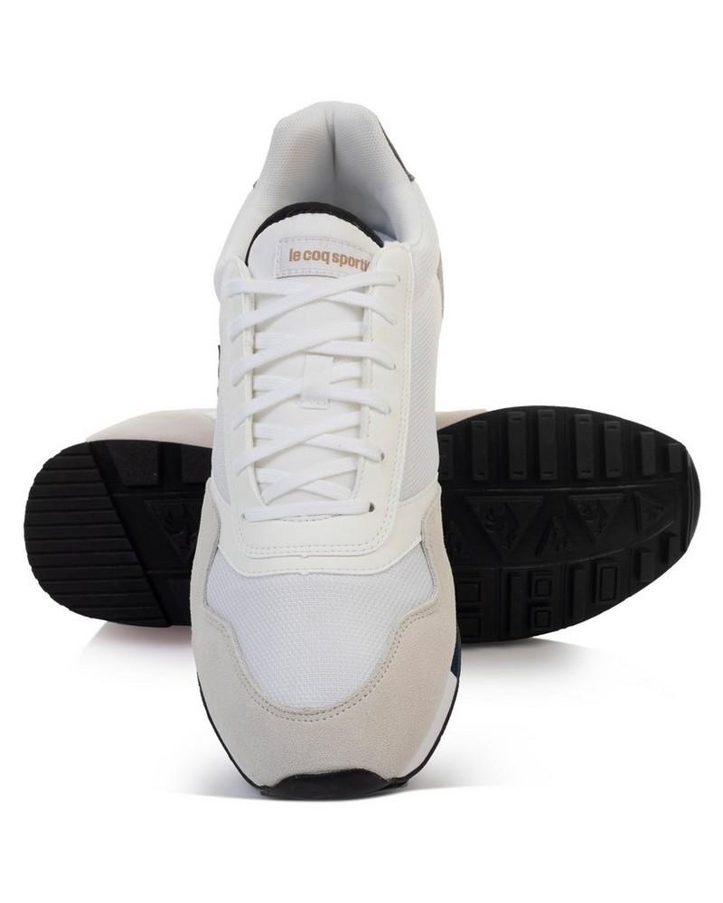 le coq Men's Delta Shoe -  white-black